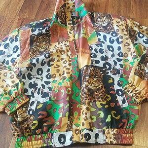 fuda international Jackets & Coats - Vintage windbreaker 80s